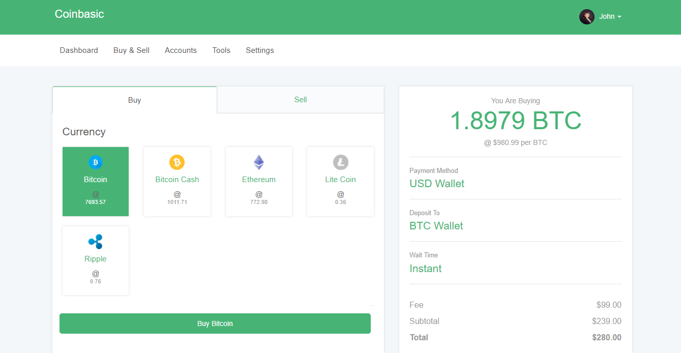 exchange software for cryptocurrency